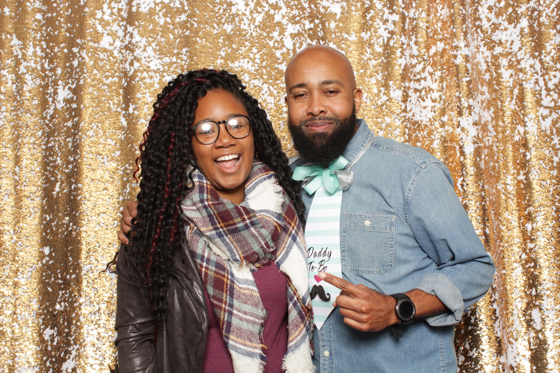 baby shower photo booth rental philadelphia