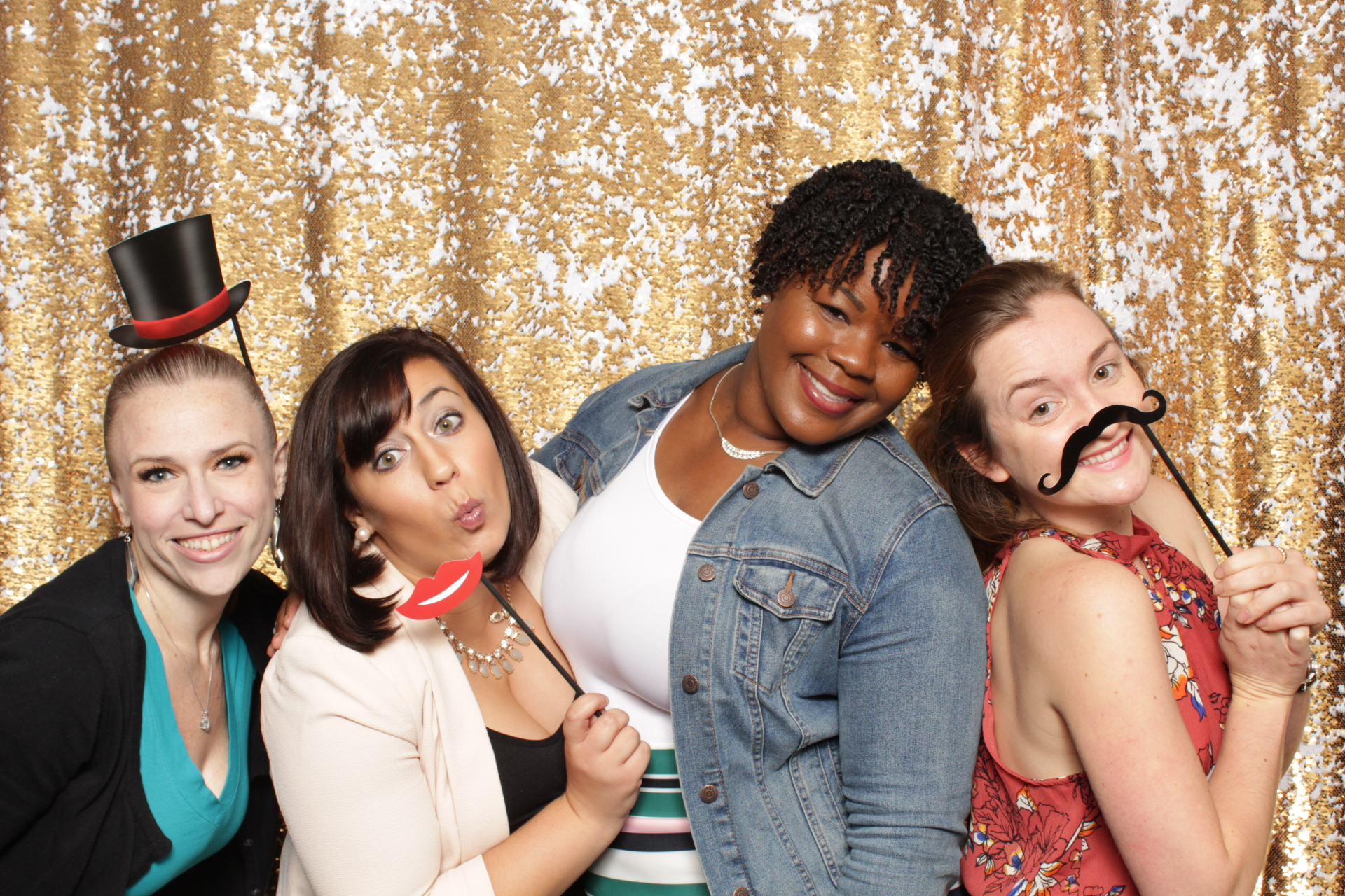 Philadelphia baby shower photo booth rental